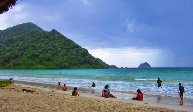 Selong Belanak Beach in Lombok West Nusa Tenggara