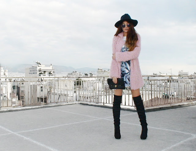 over the knee boots outfit ideas
