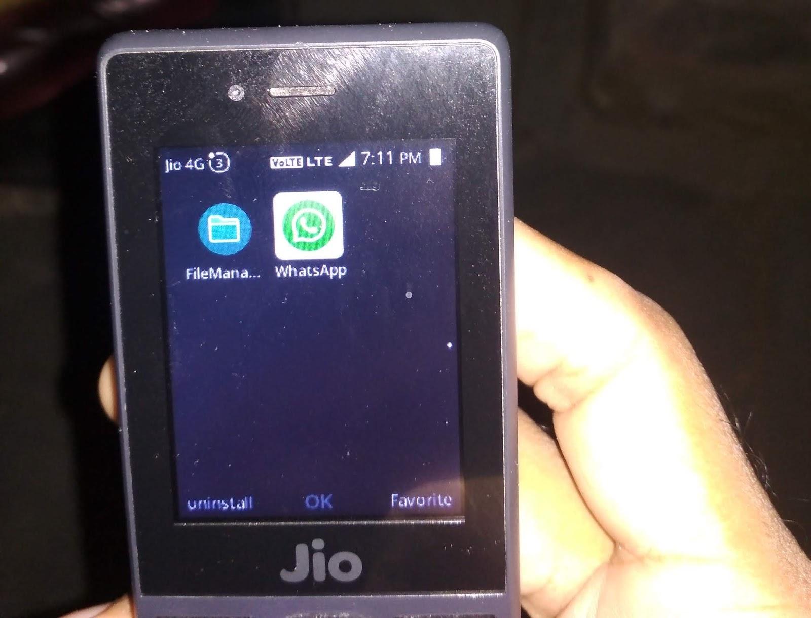 Jio Phone में WhatsApp कैसे Download/ Install कर