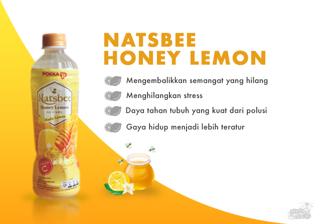 Natsbee Honey Lemon