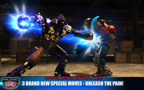 Real Steel World Robot Boxing Mod Apk Money