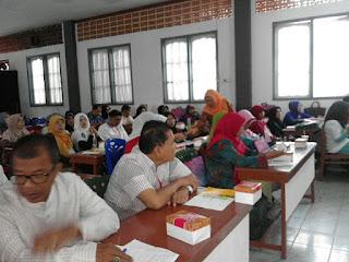 Edukasi Kesehatan kepada Calon Jamaah Haji Kec. Padang Utara bersama GEMAHATI dan SUSU HAJI SEHAT, Kota Padang