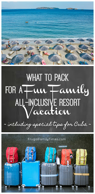 all-inclusive packing list