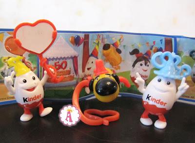 Юбилейные игрушки из Киндер Сюрприз