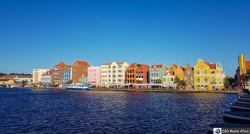 Curaçao, parada do navio - Diário de Bordo: cruzeiro pelo Caribe