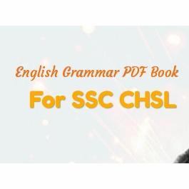 English Grammar Book For Ssc