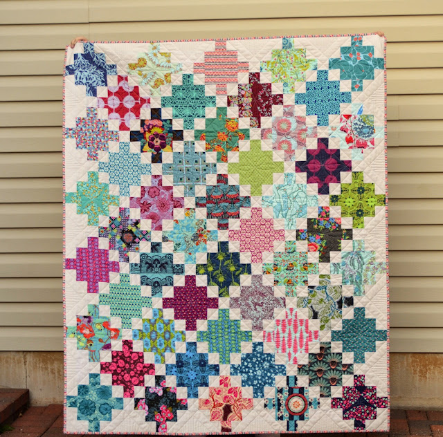 Made by Cindy at Hyacinth Quilt Deaigns