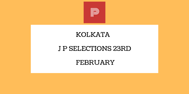 Kolkata Jackpot Selections 23rd February-indianracepunter