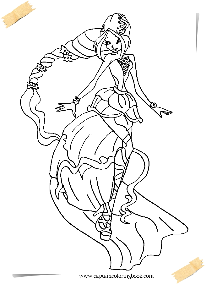 Free Printable Winx Coloring Pages For Kids | 904x656