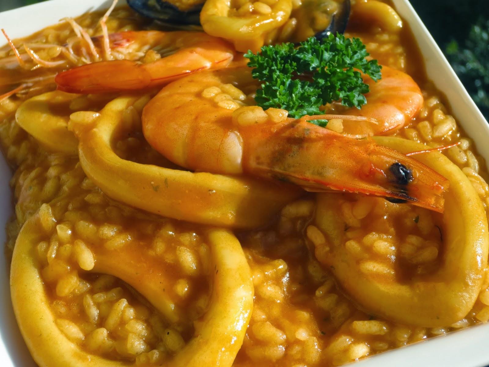 Arroz caldoso con calamares Tradicional - Juani de Ana Sevilla | Recetas  Thermomix | Olla GM | Mambo