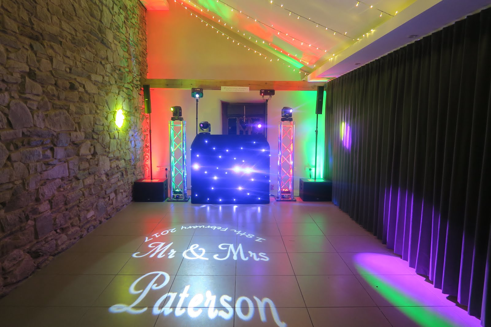 Cornwall Wedding DJ