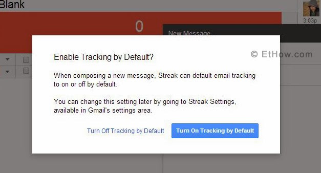 Enable or disable  streak by default.