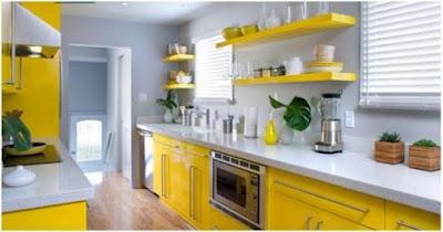 Tips Segarkan Suasana Dapur