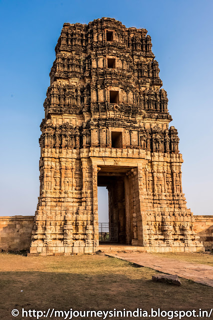 Gandikota Madavaraya swamy Temple Tower