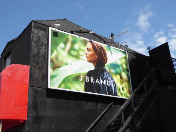 J Brand Summer 2017 fashion billboard