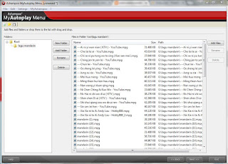 Membuat daftar menu play cd/dvd menggunakan ashampo my auto play