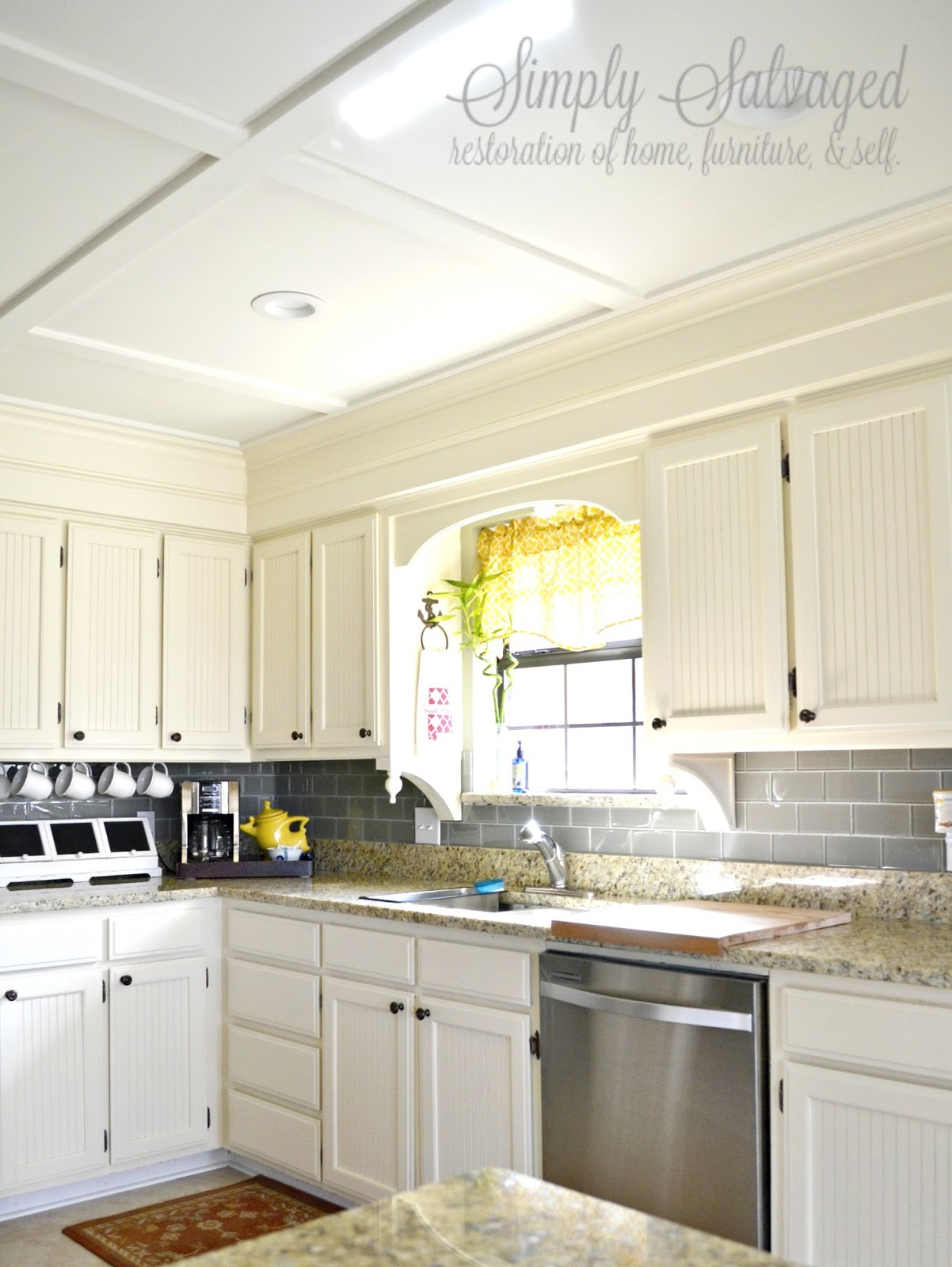 dressing up kitchen cabinets simply salvaged how to dress up your boring cabinets 6966
