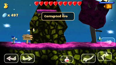 لعبة Swordigo مهكرة للأندرويد، لعبة Swordigo كاملة للأندرويد