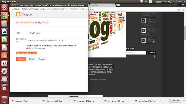 Tips and tricks to add blogspot blog to search engine