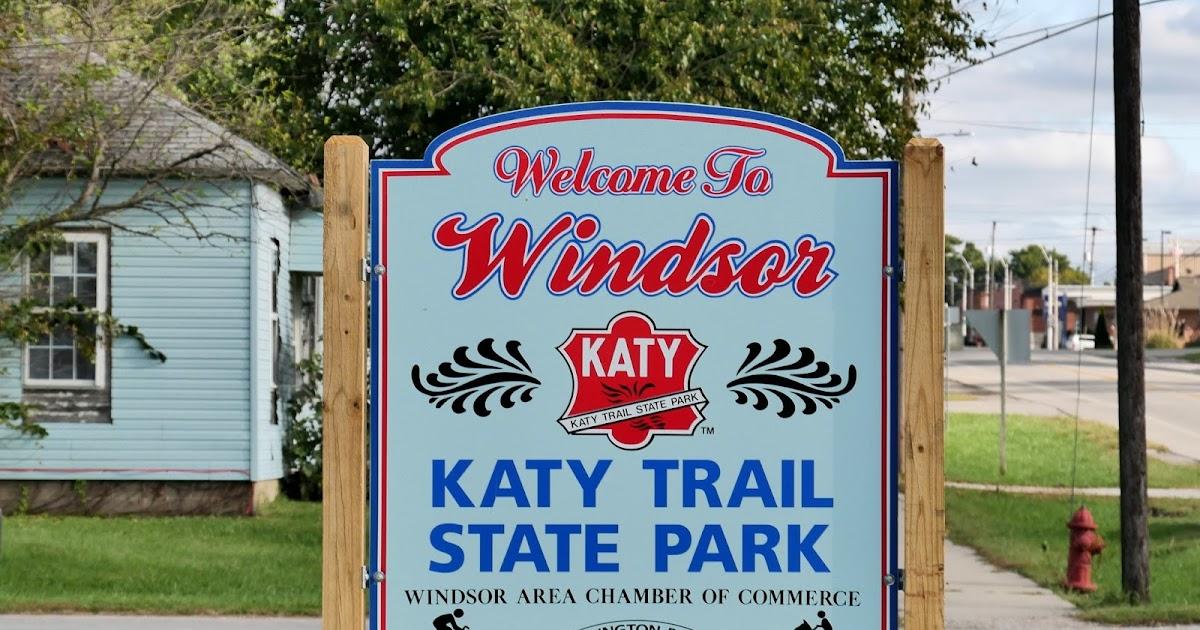 American Travel Journal Windsor to Green Ridge - Katy Trail State Park