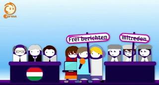 video, rajzfilm - piros lap Magyarországnak