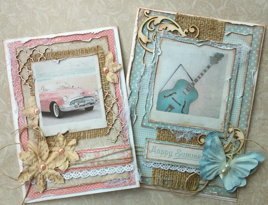 Such A Pretty Mess Making Retro Style Cards With Maja Design S