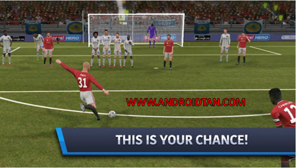 Free Download Dream League Soccer 2017 Mod Apk + Data v4.03 (Unlimited Money/Coins) Android Terbaru Full Latest Version 2017