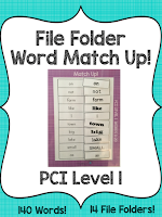 https://www.teacherspayteachers.com/Product/PCI-Level-1-File-Folder-Word-Match-Up-2645129