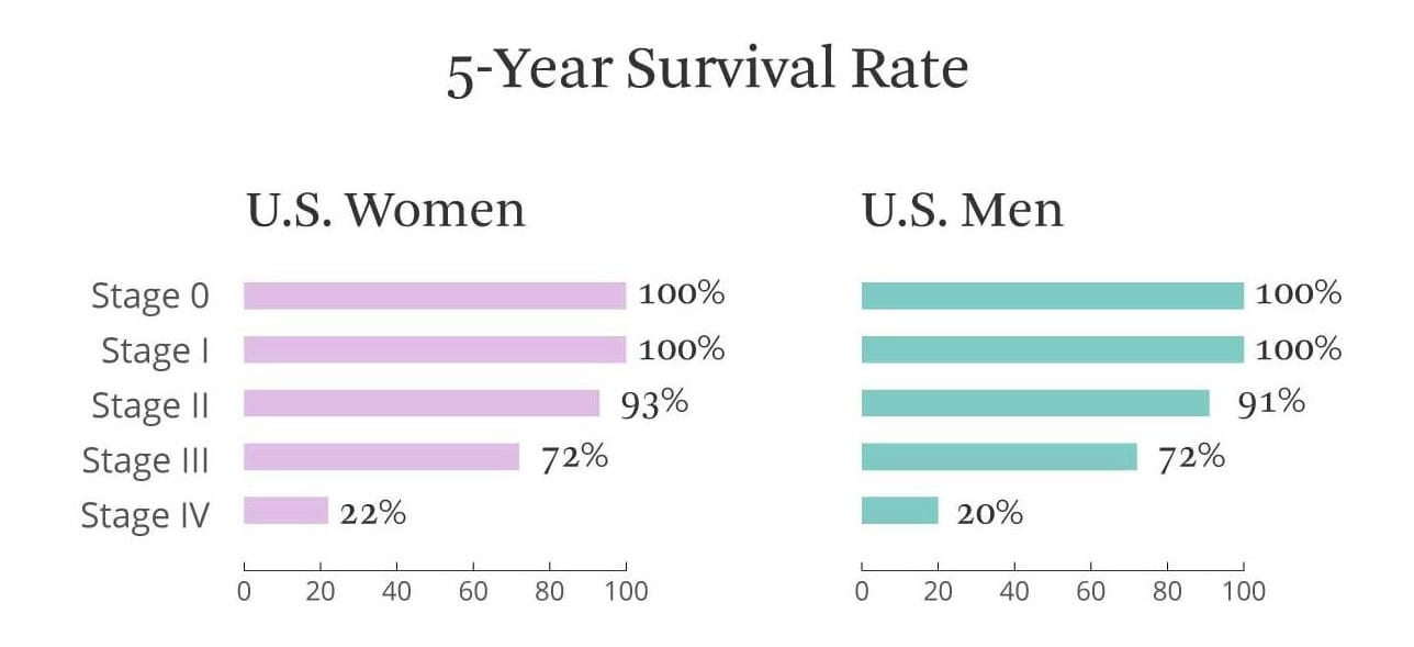Stage 4 Breast Cancer Survival Rate By Age