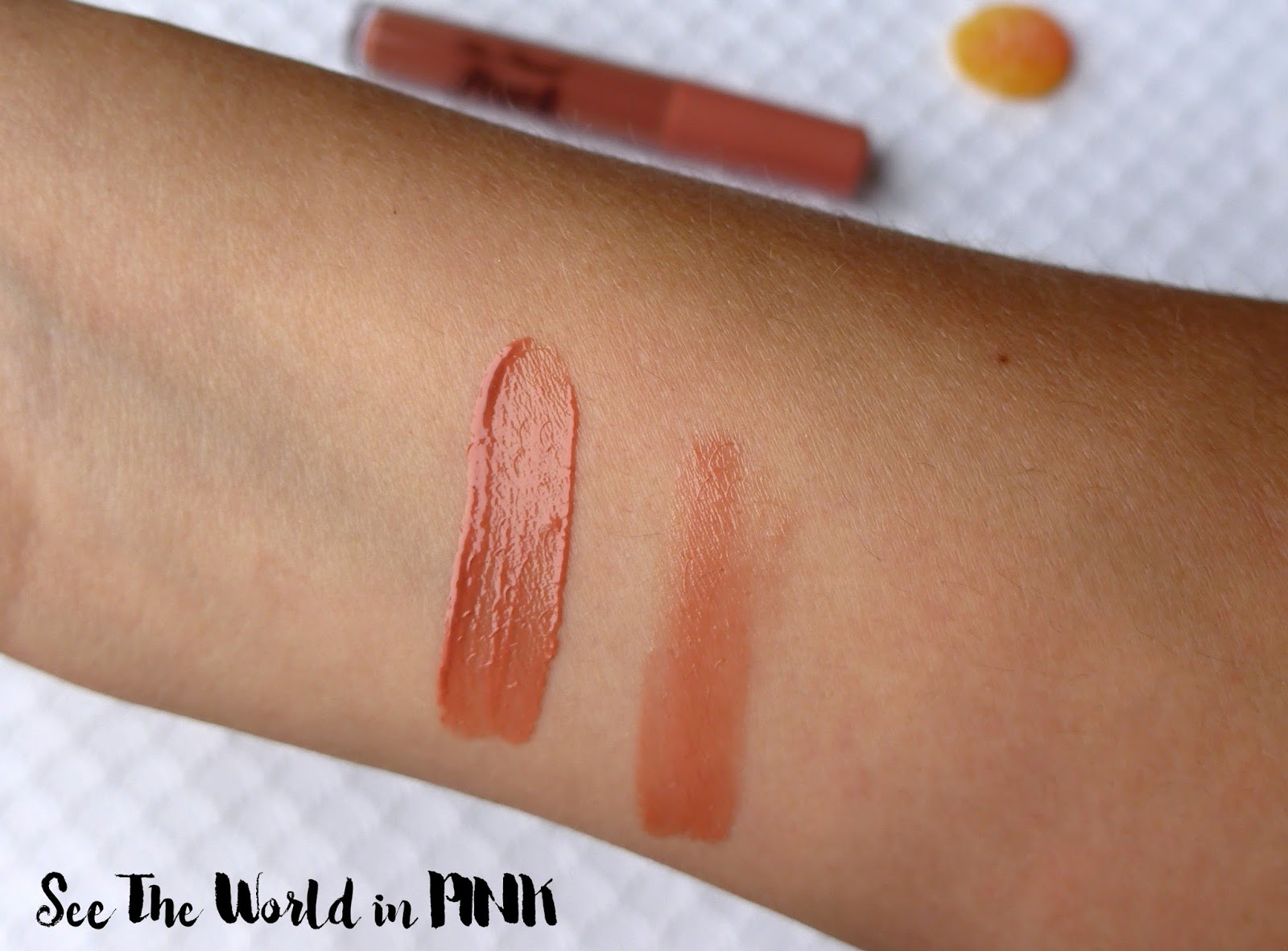 "Too Faced Sweet Peach Creamy Peach Oil Lip Gloss ""Papa Don't Peach"" Review!"