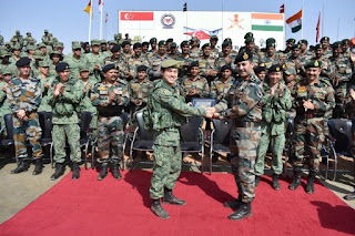 India-Singapore Exercise Bold Kurukshetra- 2019