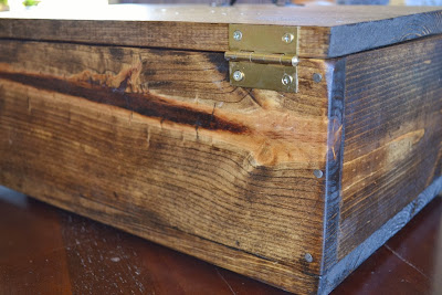 DIY Wooden Box by Over The Apple Tree