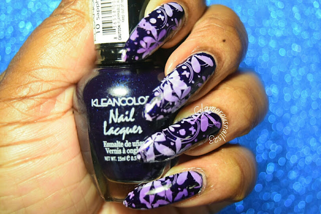 Stamping Nail Art Using Konad Stamping Plate