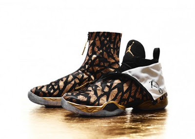 quality design 5f1db aee05 Ray Allen is going with the Black Gold Air Jordan XX8 PE for Game 3 of the NBA  Finals. This is one of two colorways for Allen whenever the Heat play in  San ...