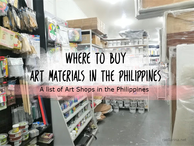 Heres Your Definitive Guide Of Where To Buy Art Materials In The Philippines As An Artist My Last Resort For Buying And Hoarding Are