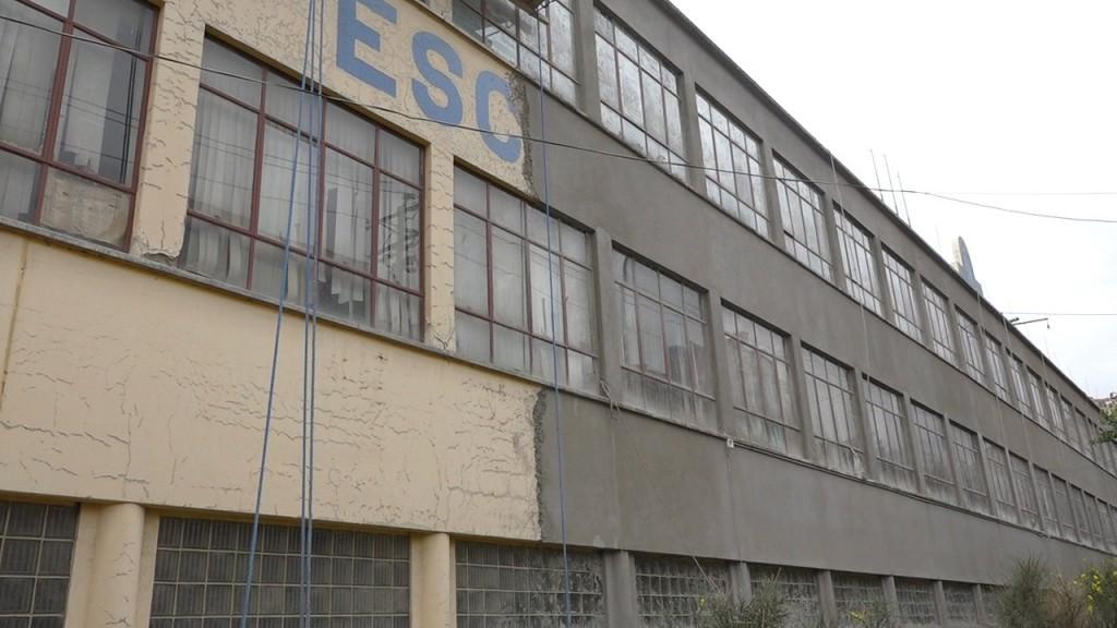 Reparación del frontis del Instituto Superior Pedro Domingo Murillo