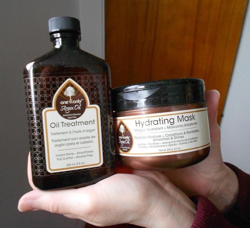 Argan Oil Treatment & Mask
