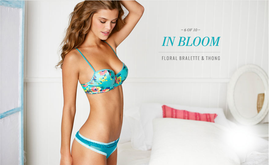 Aerie Perfect Paris Lingerie Campaign May 2013 Featuring
