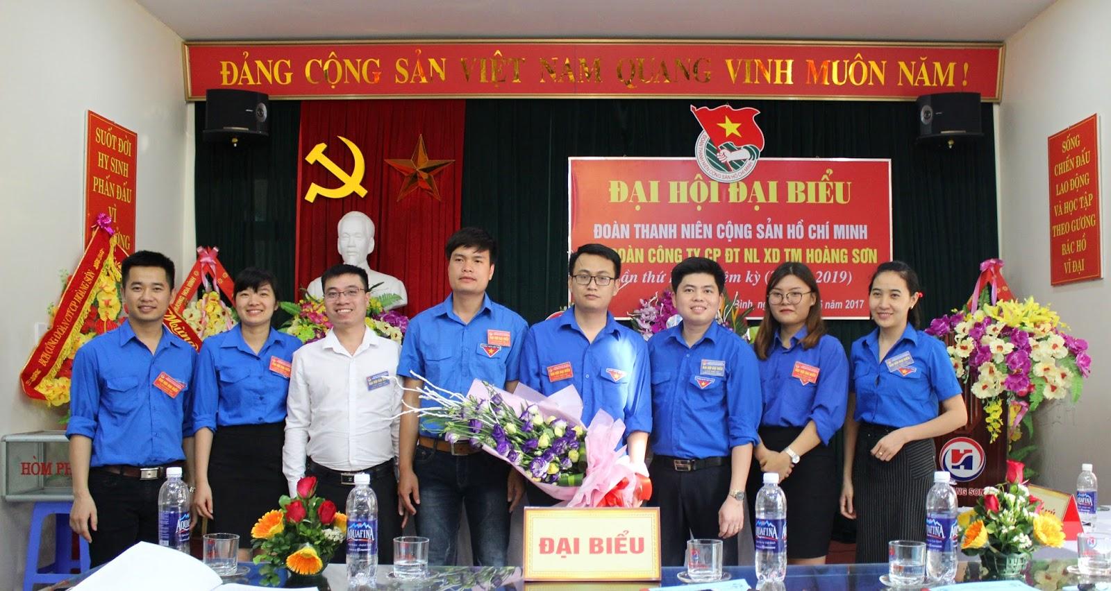 Đại hội Chi đoàn Công ty cổ phần ĐTNL XDTM Hoàng Sơn lần thứ III thành công tốt đẹp