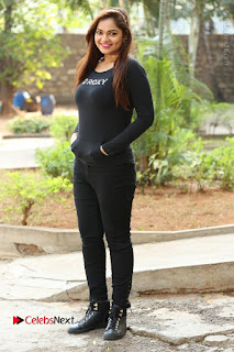 Actress Aswini Latest Stills in Black Denim Jeans  0173.JPG