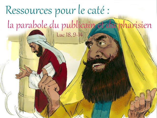 ressources pour le caté le pharisien-et-publicain-kt42