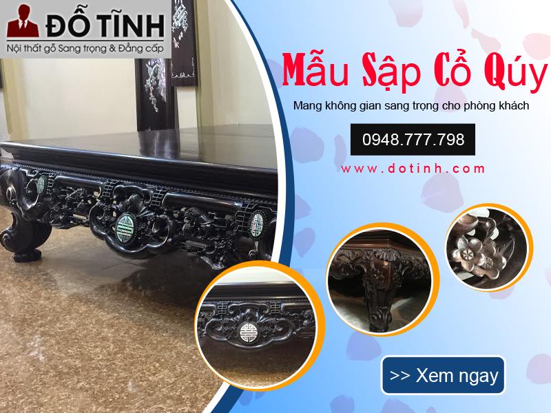 Tổng hợp các mẫu sập gỗ đẹp nhất Việt Nam 2018