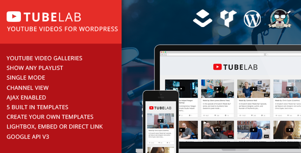 Download Tubelab – YouTube Wordpress Plugin