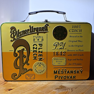 Pilsner Urquell Lunchbox: photo by Cliff Hutson