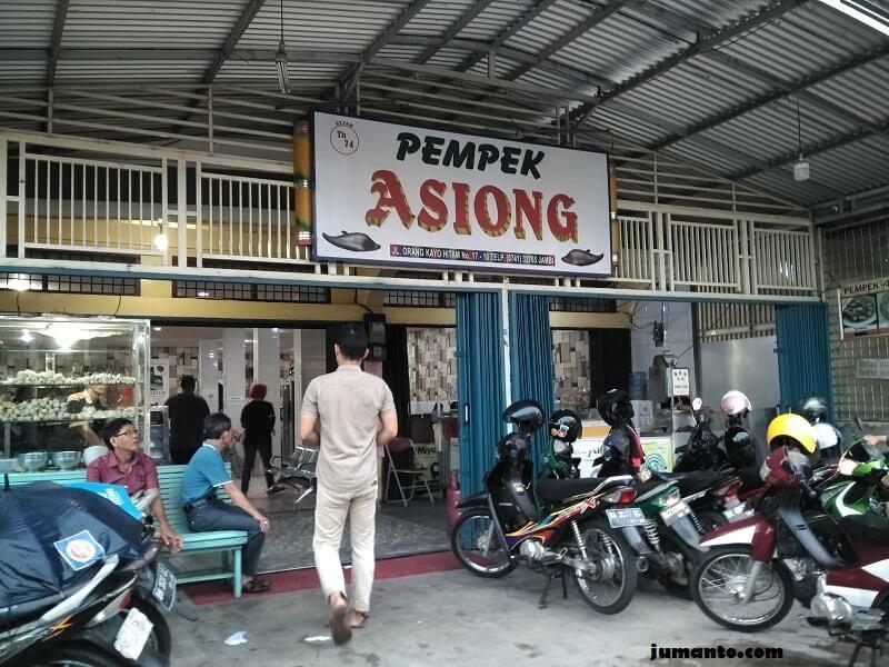lokasi pempek asiong jambi