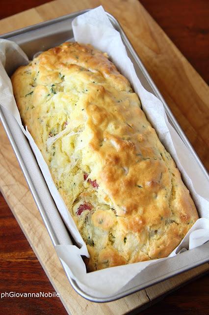 cake con arrosto di culatello Lentie formaggio Casera