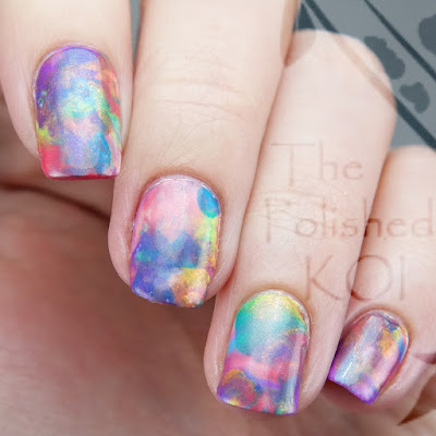 Rainbow Opal Nail Art TONIC
