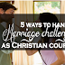 5 ways to handle marriage challenges as Christian couples