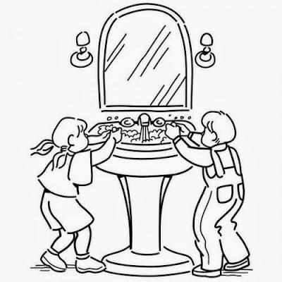 Maestra de primaria muebles y objetos de la casa para - Como iluminar un bano ...