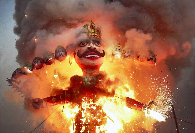 ravan-jalane-ki-image-photo-